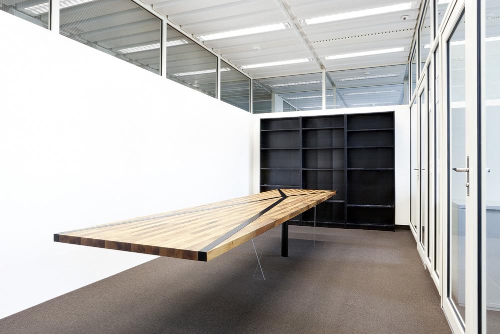 Lukas Schaffhuser Architekturfotografie Zuerich Professur Schwartz ETH Projekte Sitzungstisch 01 Counterpoise