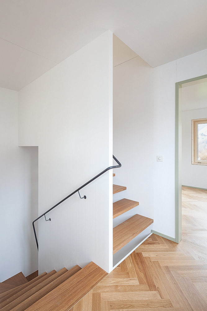 Lukas Schaffhuser Architekturfotografie Zuerich Stereo Architektur Seehuisli Treppe