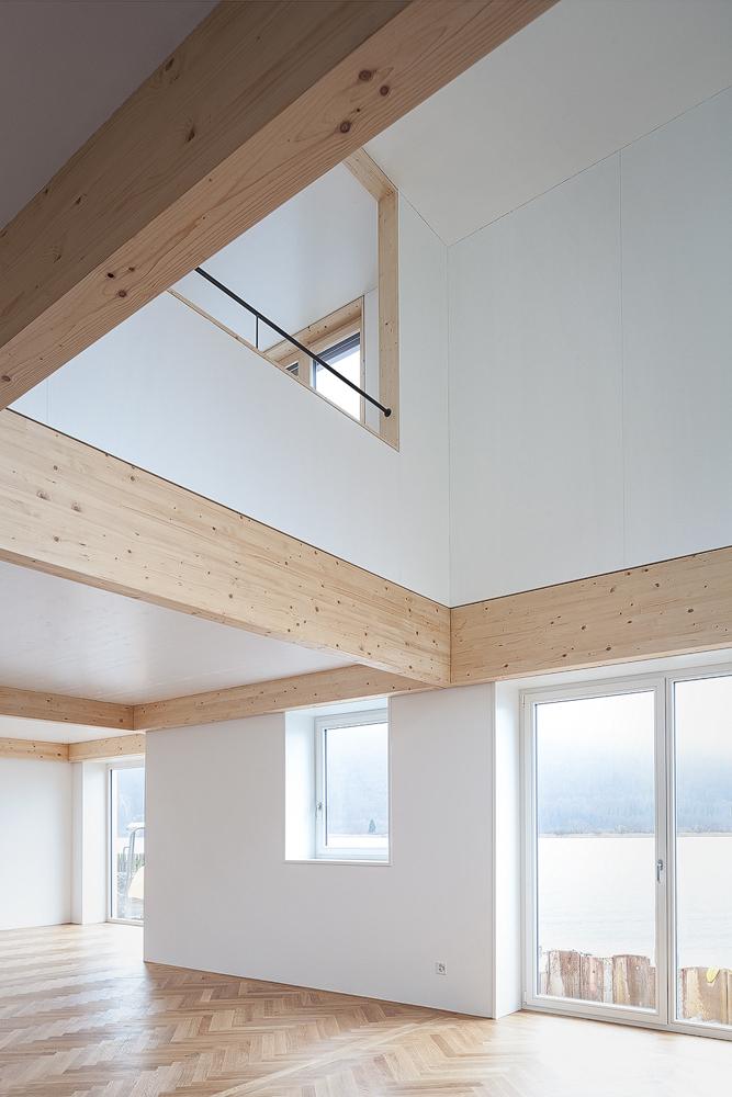 Lukas Schaffhuser Architekturfotografie Zuerich Stereo Architektur Seehuisli Wohnraum 1