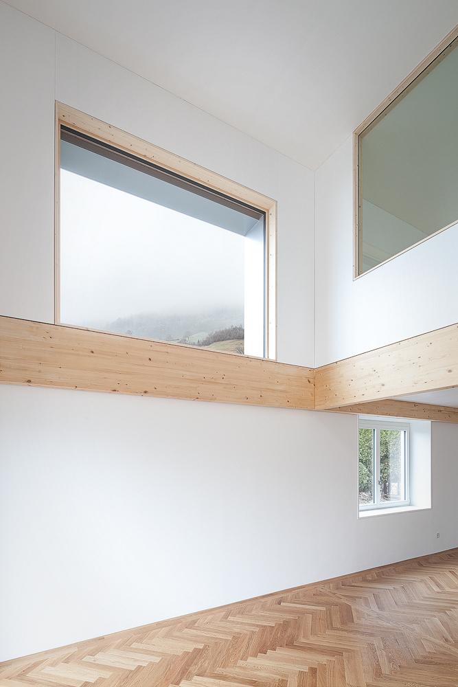 Lukas Schaffhuser Architekturfotografie Zuerich Stereo Architektur Seehuisli Wohnraum 3