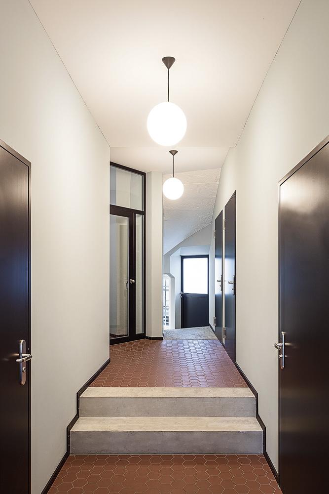 Lukas Schaffhuser Architekturfotografie Zuerich Haltmeier Kister Hardaustrasse Eingang 2