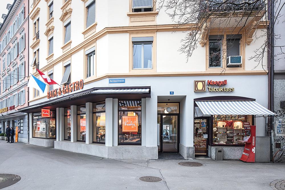Lukas Schaffhuser Architekturfotografie Zuerich Haltmeier Kister Hardaustrasse Fassade