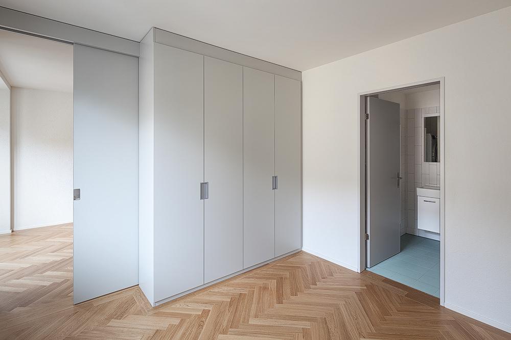Lukas Schaffhuser Architekturfotografie Zuerich Nimbus Architekten Saentisstrasse Zuerich Zimmer