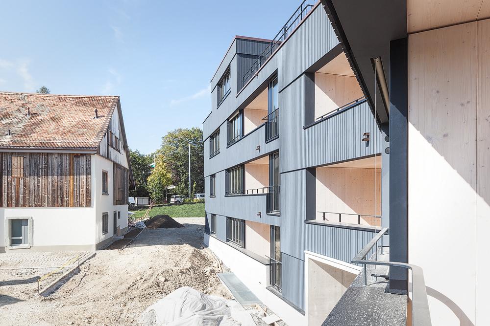 Lukas Schaffhuser Architekturfotografie Zuerich Haltmeier Kister Schneebeliweg Aussen 03
