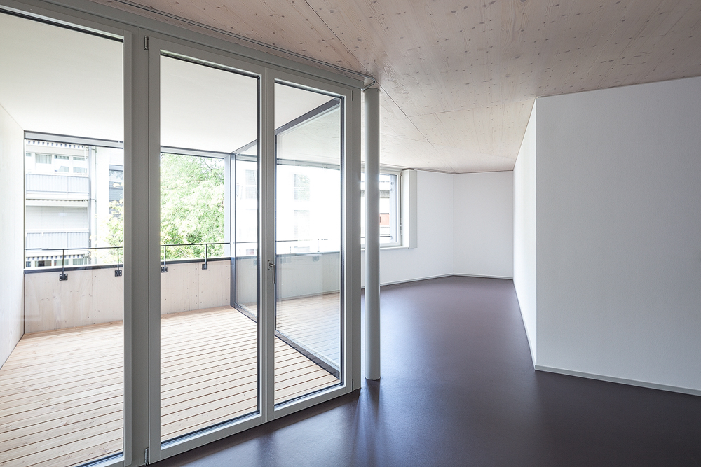 Lukas Schaffhuser Architekturfotografie Zuerich Haltmeier Kister Schneebeliweg Wohnung 02