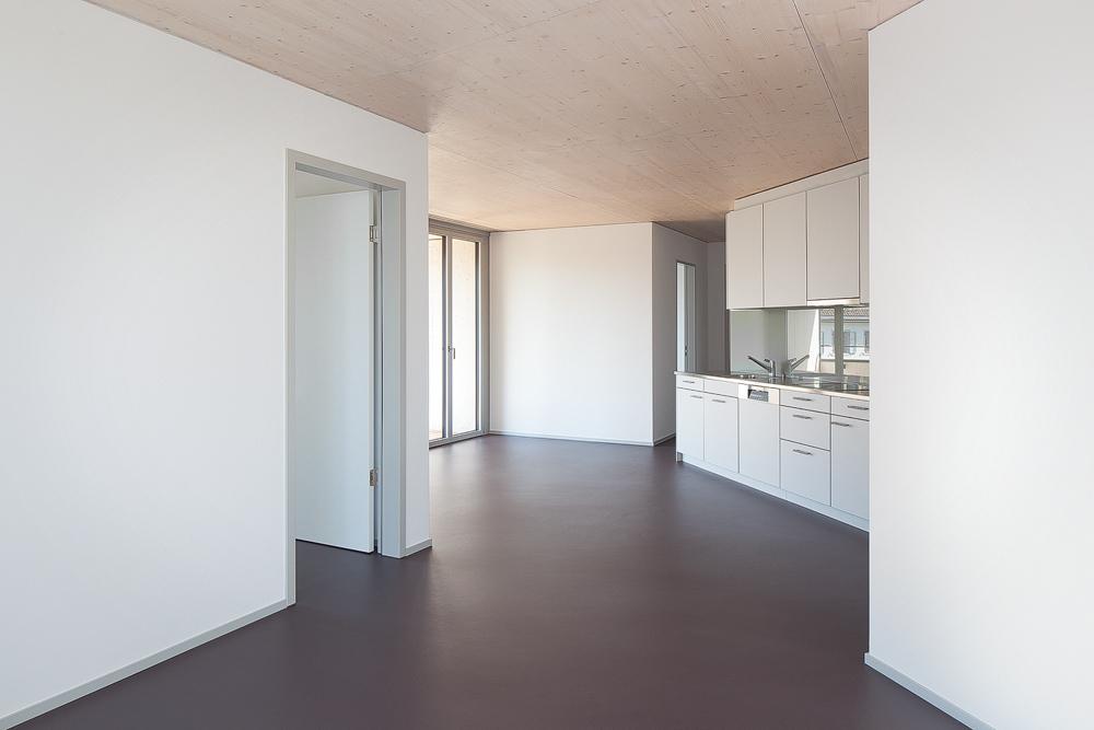 Lukas Schaffhuser Architekturfotografie Zuerich Haltmeier Kister Schneebeliweg Kueche 01