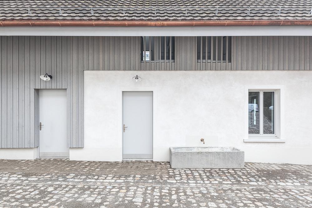 Lukas Schaffhuser Architekturfotografie Zuerich Haltmeier Kister Waschhuesli Aussen
