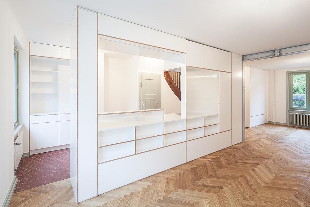 Lukas Schaffhuser Architekturfotografie Zuerich Stereo Architektur Reiterstrasse Basel Kueche 2