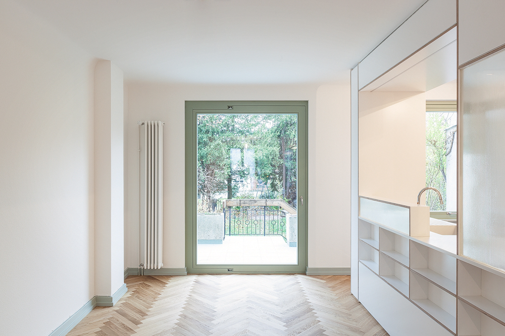 Lukas Schaffhuser Architekturfotografie Zuerich Stereo Architektur Reiterstrasse Basel Wohnen 1