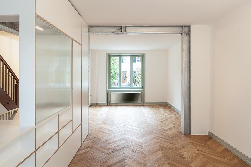 Lukas Schaffhuser Architekturfotografie Zuerich Stereo Architektur Reiterstrasse Basel Wohnen 4